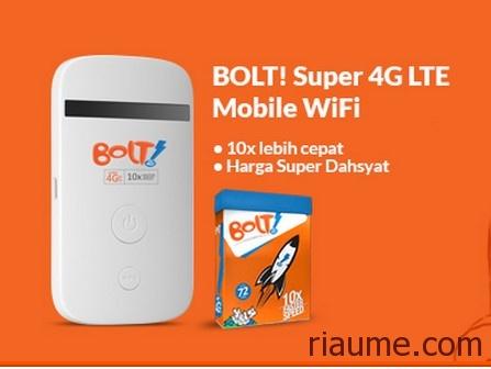 Harga Dan Info Paket Bolt Super 4g Terbaru September 2018