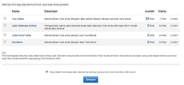 cara pasang iklan premium listing olx co id tutorial picture