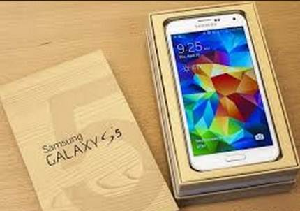 contoh smartphone samsung galaxy s5 picture