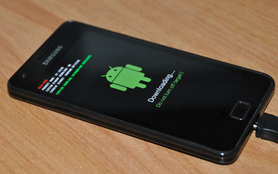 Flashing hp android samsung galaxy picture