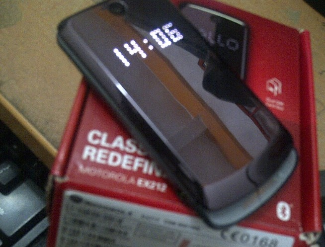 Review Motorola ex212 gleam