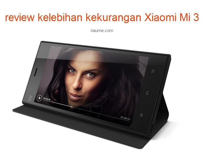 review kelebihan kekurangan Xiaomi Mi 3 picture