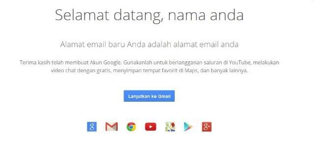 cara membuat akun gmail - image