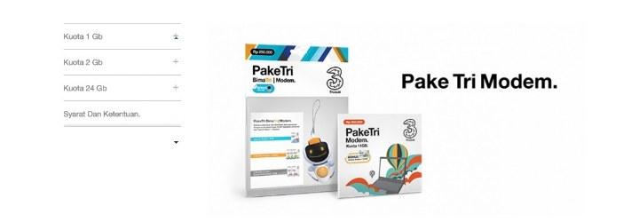 paket kartu internet - image