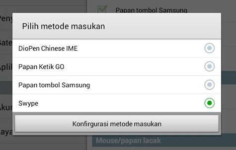 Tips cara mengganti default keyboard hp android all type terbaru