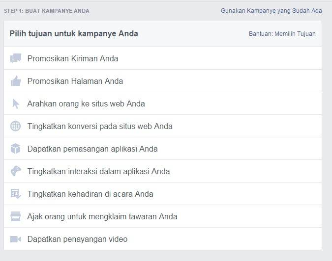Jasa Pasang Iklan Facebook Murah Terbaru April 2018