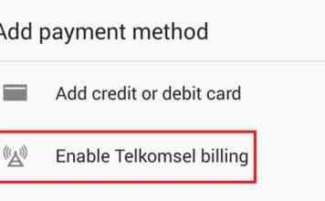 cara mudah membeli aplikasi android dengan pulsa telkomsel terbaru