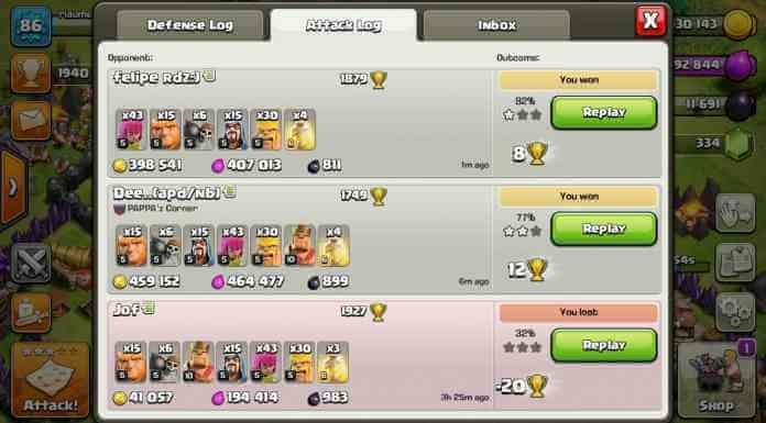 farming clash of clans gold elixir th 9