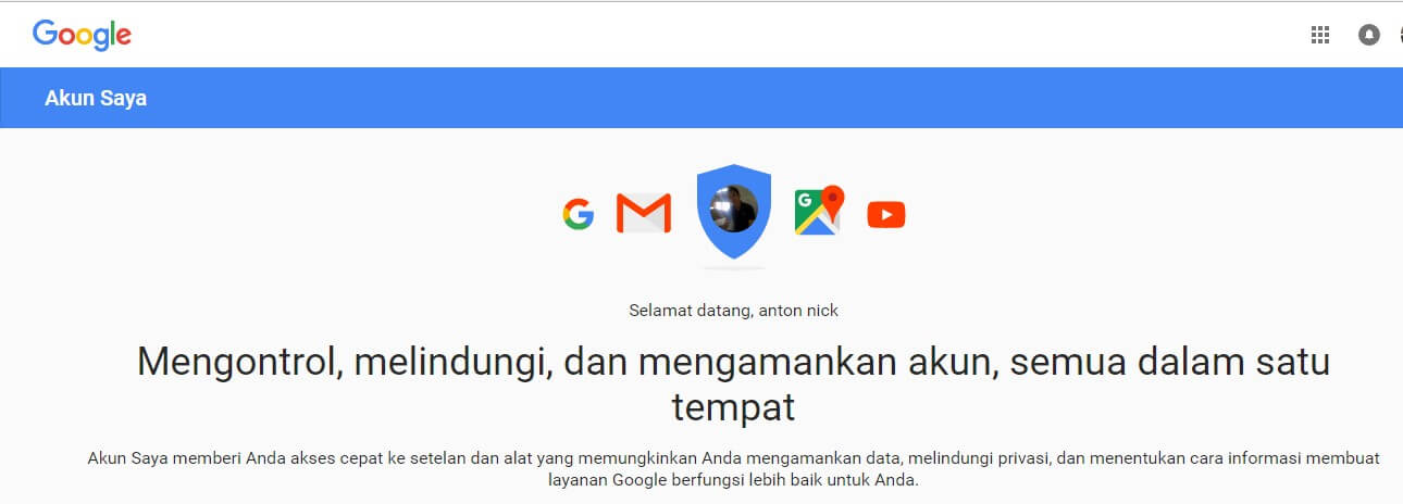 logout akun google gmail di android