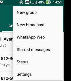 menu whatsapp web di aplikasi whatsapp android