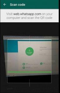 scan code web whatsapp