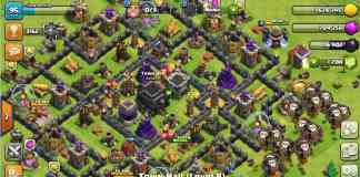 cara farming th 9 awal di clash of clans tanpa hero