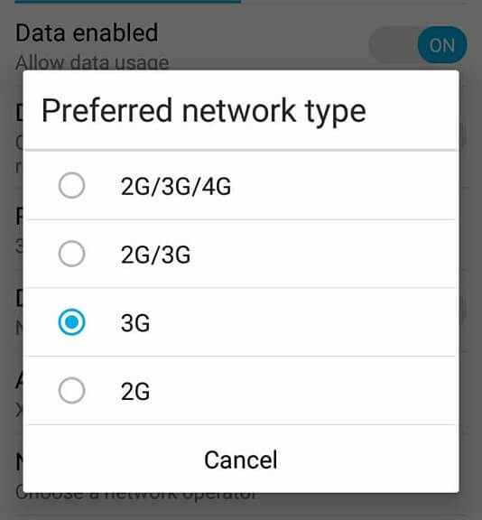cara mengatasi internet sering putus di hp android Karena bawaan provider terkait