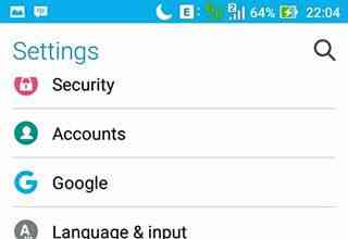 cara setting screen shot hp asus zenfone
