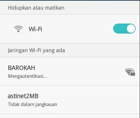 Cara Atasi Masalah Autentikasi Wifi Pada Huawei Terbaru Januari 2019
