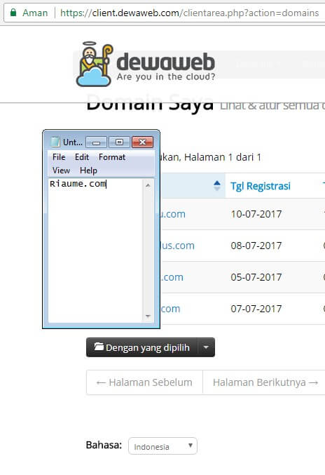 review dewaweb cloud hosting indonesia
