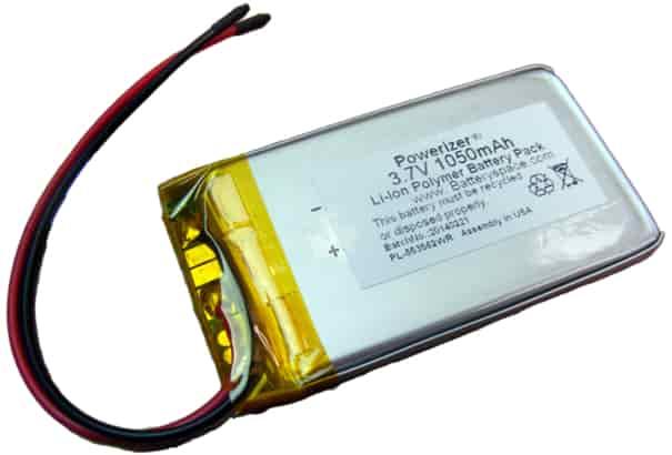 Baterai Li-po adalah