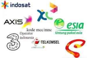 Daftar kode mcc dan mnc all operator di indonesia terbaru