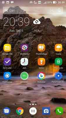 Download arrow launcher .apk terbaru