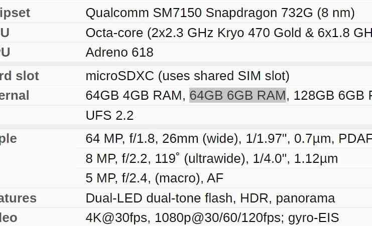 Hp android memori internal 64GB sudah cukup ideal terbaru