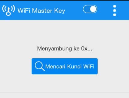 Ini cara kerja wifi master key android terbaru