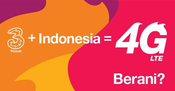 Kode mcc dan mnc operator 3 (tri) indonesia