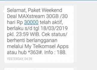 apa itu paket maxstream dari telkomsel