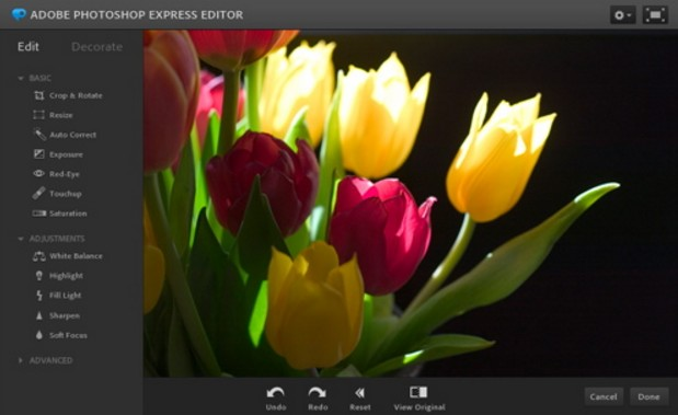aplikasi edit foto terbaik dan terpopuler android Adobe Photoshop Express