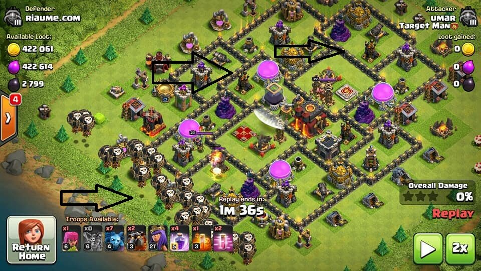Base Coc Th 9 Anti Maling 10