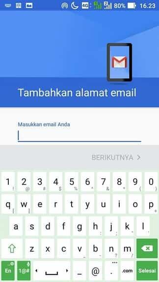 cara add akun email yahoo di hp android