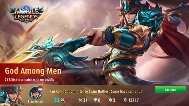 cara bermain mobile legends pemula god among men