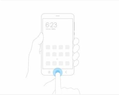 cara cepat screenshot xiaomi dengan menekan 1 menu home tahan