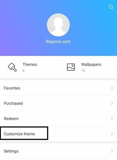 cara customize theme pada hp xiaomi miui 9