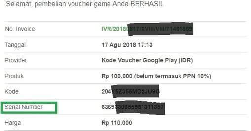 cara klaim kode voucher google play indonesia terbaru