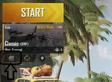 cara masuk training mode pubg mobile