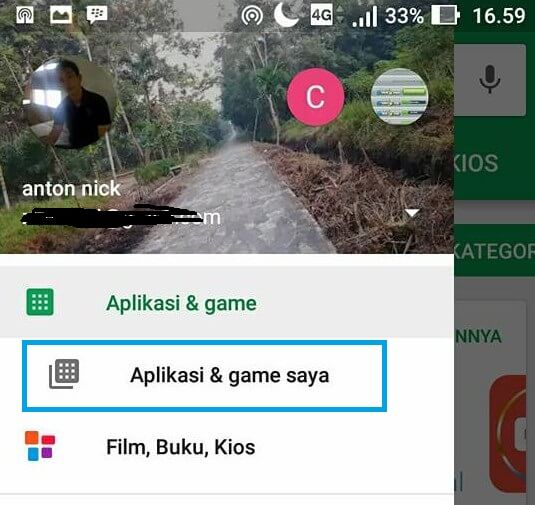 cara memperbarui facebook di play store android