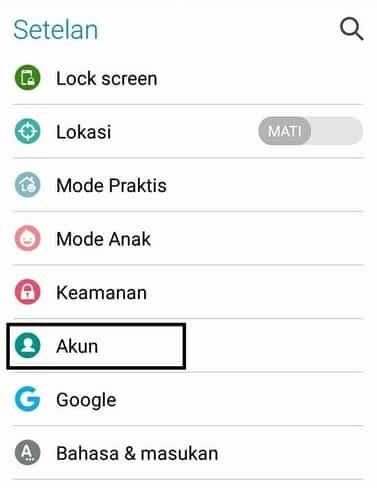 cara menambah akun email yahoo di hp android