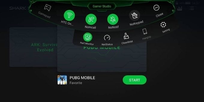 cara menampilkan Performance Monitor fps di hp android xiaomi black shark
