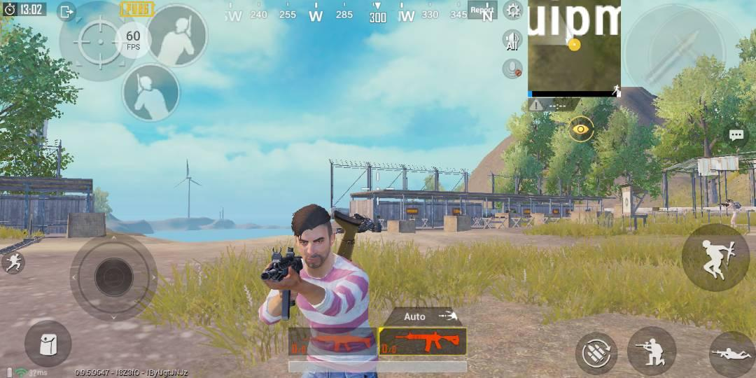 cara menampilkan fps hp android xiaomi black shark pubg mobile 60 fps
