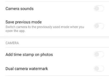 cara menghilangkan dual camera watermark pada hp xiaomi