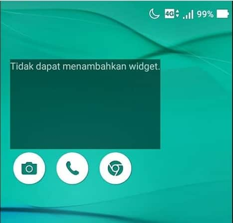 cara menghilangkan widget cuaca pada lockscreen android asus zenfone