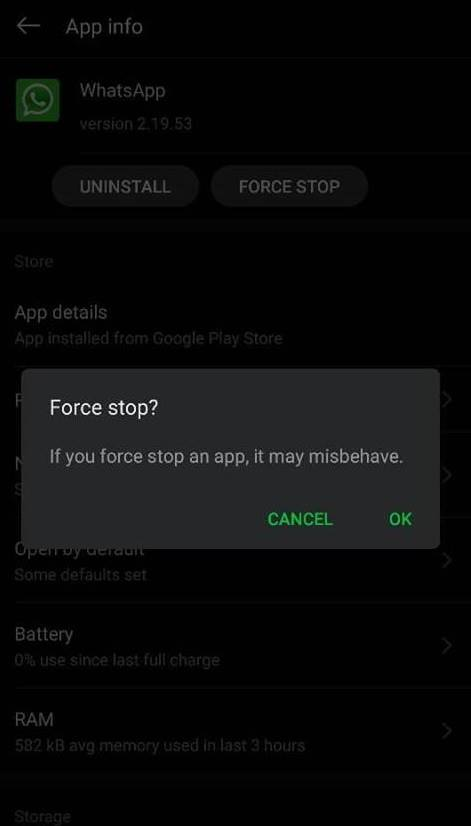 cara menonaktifkan whatsapp sementara di hp android