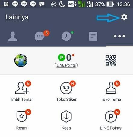 cara merubah nada panggilan masuk line di android