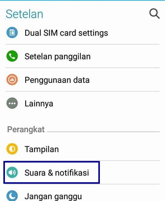 cara merubah ringtone notifikasi android menjadi custom lagu mp3 terbaru