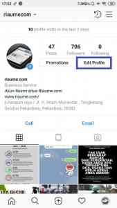 cara mudah mengganti username instagram di android terbaru
