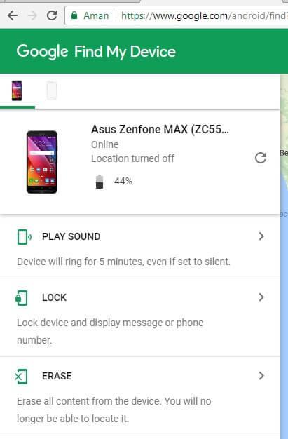 cara reset android yang dicuri orang terbaru