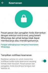 cara sederhana keamankan akun whatsapp terbaru