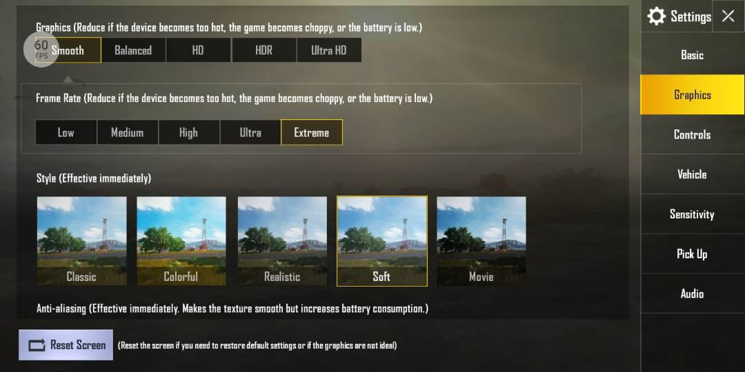 Cara Setting Grafik Pubg Mobile Frame Rate 60 Fps Terbaru