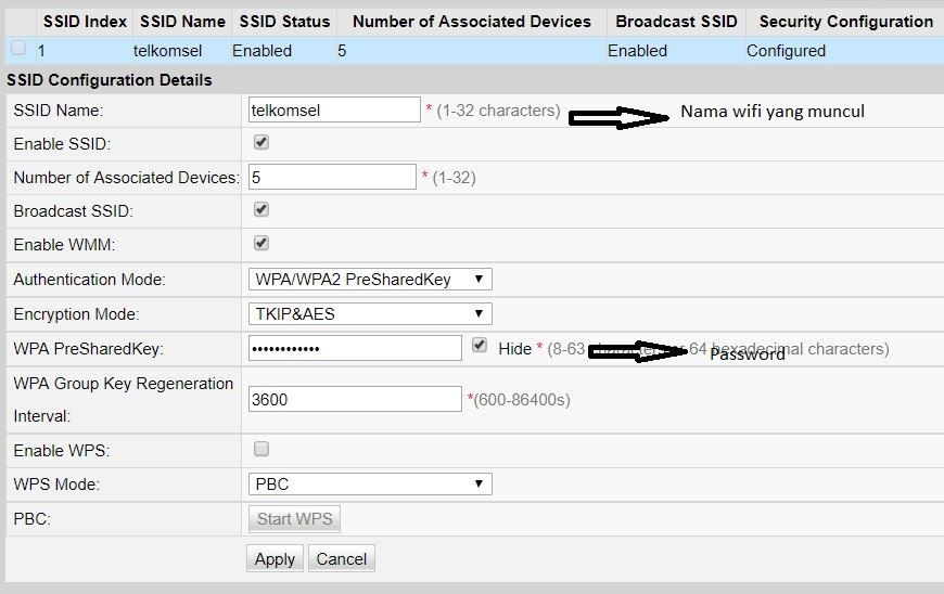 cara ubah ssid atau nama dan password indihome huawei terbaru dari hp dan komputer