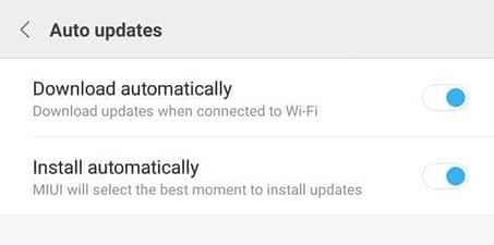 cara update xiaomi miui 9 tanpa wifi